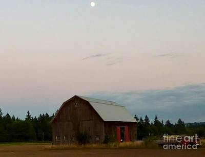 Photograph -  Oregon Farm Moonshines by Susan Garren