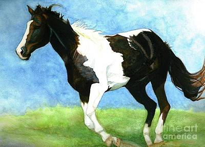 Painting -  Painted Horse by Janine Riley