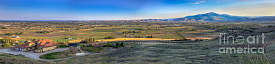 Landsacape Photograph -  Panoramic Emmett Valley by Robert Bales
