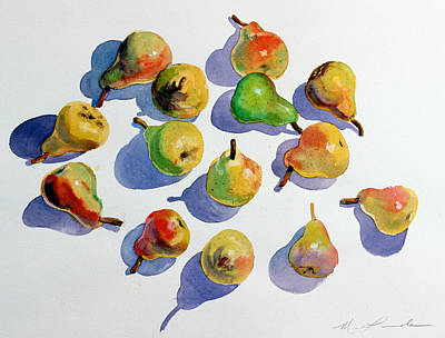 Painting -  Pears by Mark Lunde