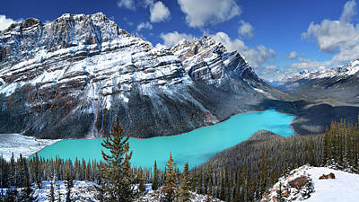 Photograph -  Peyto Lake by John Poon
