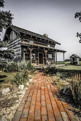 Pioneer Farmhouse Art Print by Chris Smith
