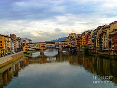 Photograph -  Ponte Vecchio's Padlocks by Phillip Allen