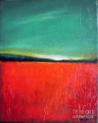 Poppies Field Painting -  Poppy Field by Vesna Antic