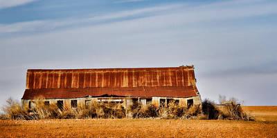 Photograph -  Prairie Hangar by Lana Trussell
