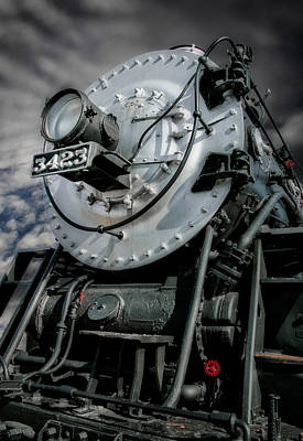 Vintage Locomotive Photograph -  Rail Power by David and Carol Kelly
