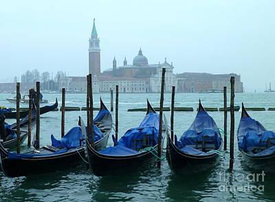 Anna Duyunova Art Photograph -  Rain In Venice by Anna and Sergey