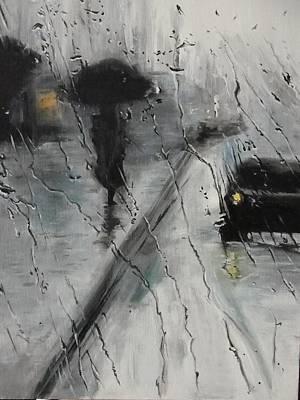 Painting -  Raining  by Sergey Selivanov