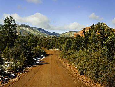 Red Canyon Road Sedona Back Country Original