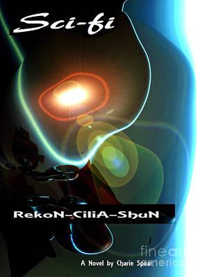 Novel Painting -  Rekon-cilia-shun Sci-fi Novel Cover Art by Charlie Spear