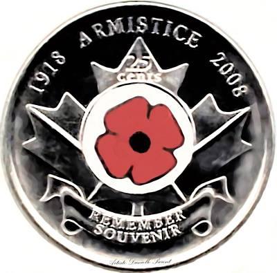 Remember Armistice Jour Du Souvenir  Art Print