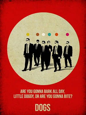 Reservoir Dogs Poster Art Print by Naxart Studio
