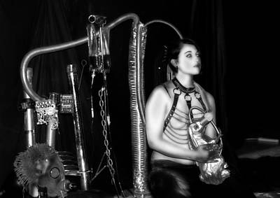 Photograph -  Reverence Leather And Chrome 33 by Tarey Potter