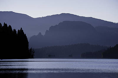 Rimrock Lake Art Print