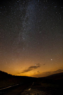 Photograph -  Road To The Milky Way by Beverly Cash