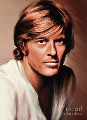 Robert Redford Art Print