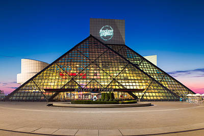 Photograph -  Rock And Roll Hall Of Fame And Museum by Emmanuel Panagiotakis
