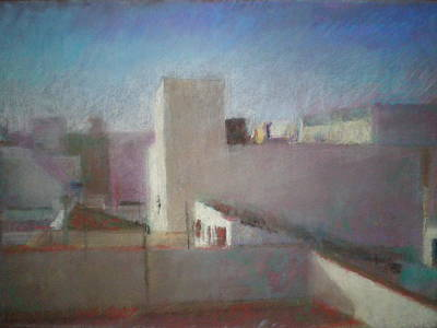 Roofs First State Art Print by Paez  ANTONIO
