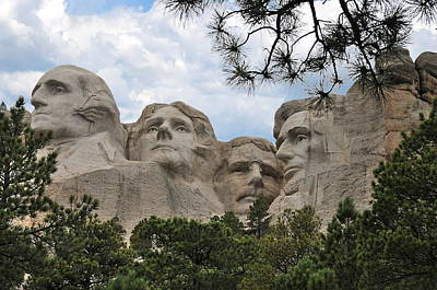 Photograph -  Rushmore by Jack Dean