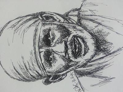 India Babas Painting -  Sai Baba  by Timothy Raj