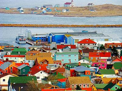 Saint Pierre Et Miquelon Art Print