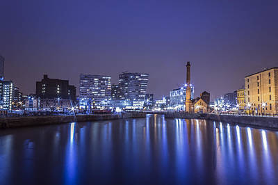 Typography Tees -  Salthouse Dock - Liverpool by Paul Madden