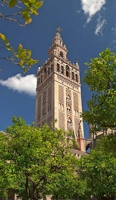Seville Cathedral Belltower Art Print by Viacheslav Savitskiy