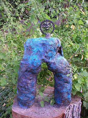Shiva Shakti Yoga Sculpture Art Print