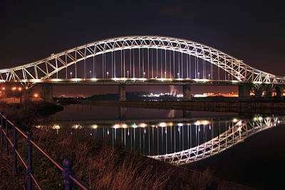 Photograph -  Silver Jubilee Bridge by Paul Scoullar