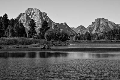 Photograph -  Snake River - Grand Teton National Park by Aidan Moran
