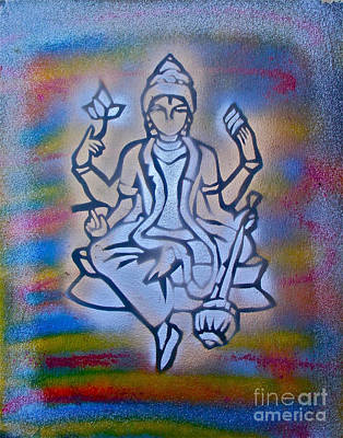 First Amendment Painting -  So Shiva 1 by Tony B Conscious