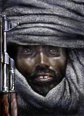 Somalia - How I Live  Art Print