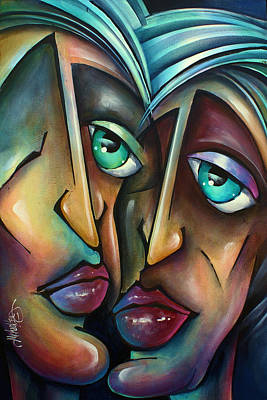 Emo Painting - ' Spotlight ' by Michael Lang
