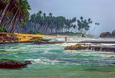 Sri Lanka Print by Steve Harrington