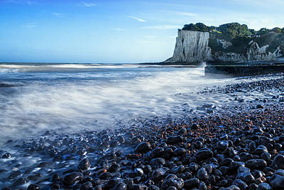 St Margarets Bay Art Print by Ian Hufton