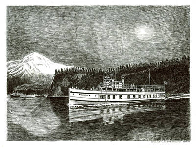 Steamship Virginia V Original by Jack Pumphrey