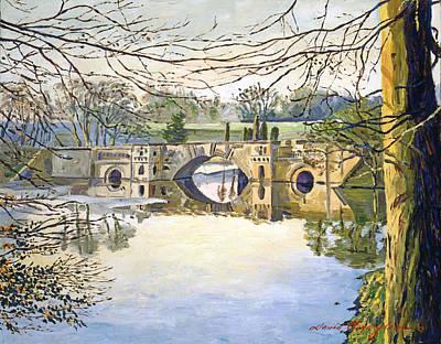 Stone Bridge Art Print by David Lloyd Glover