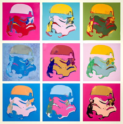 Pop Art Photograph -  Stormtrooper  by Tony Leone