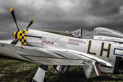 Stormy Sky Mustang Original by Chris Smith