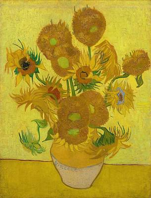 Painting -  Sunflowers by Vincent van Gogh