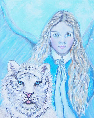 Painting -  Tatiana by The Art With A Heart By Charlotte Phillips