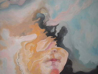 Portraits Painting -  The Birth Of Women by Roncea Eliza