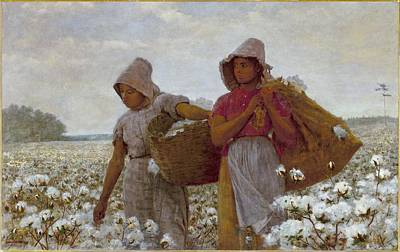 The Cotton Pickers Print by Celestial Images