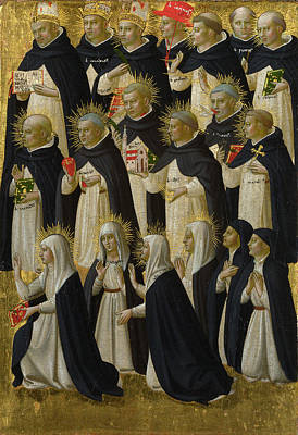 Religious Artist Painting -  The Dominican Blessed by Fra Angelico