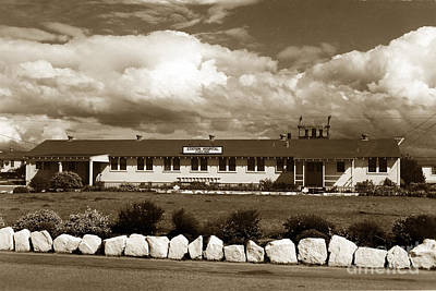 Photograph -  The Fort Ord Station Hospital Administration Building T-3010 Building Fort Ord Army Base Circa 1950 by California Views Archives Mr Pat Hathaway Archives