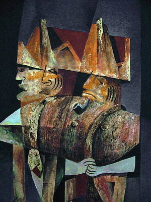 Painting -  The Generals by Val Byrne