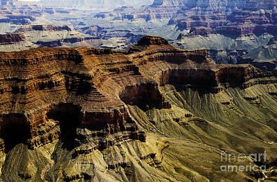 The Grand Canyon Art Print by Thomas R Fletcher