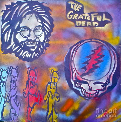 Free Speech Painting -  The Grateful Dead by Tony B Conscious