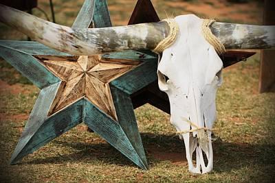 The Heart Of Texas Art Print