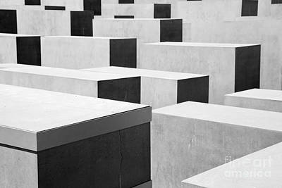 Museum Photograph -  The Holocaust Memorial by Michal Bednarek